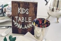 """wedding {the kid's table} / ideas to help make your wedding a little more fun for the kids and maybe help prevent some meltdowns.  The """"kid's table"""" can be super fun place to hang out whether you're a child or a child-at-heart."""