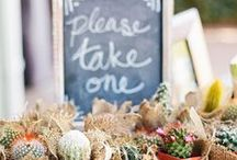wedding {favors} / Wedding favors don't have to be boring.  Whether you prefer edible treats or things your guests can take home, you will find some fun ideas here.