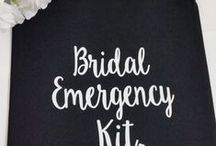 """wedding {emergencies} / Darn it!  Your makeup artist """"forgot"""" to show up, your dress has a flipping stain on it and cousin Mark is beyond drunk.   Don't lose your ish...yet.  Be more prepared than a Girl Scout to deal with problems.  Have a plan in place for when you know drama will erupt and who will deal with it so you don't even know it's happened."""