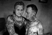 Tattoo. / Body art.