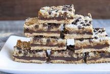 Sweets - Brownies/Bars/Blondies/Squares / by Jess Reed