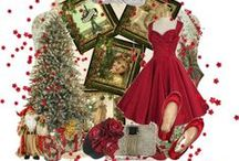 Have Yourself A Very Vintage Christmas / Fashion, art recipes and style for a festive vintage inspired Christmas!