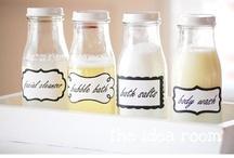 Repurposed Starbuck Bottles