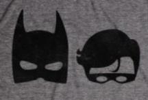superheroes. / by Emma Roos