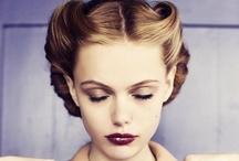 Retro Hair and Makeup / Our favorite retro hair styles, makeup and beauty tips to inspire glamorous vintage looks!