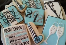 New Year's - Cookies / New Year's Eve cookie ideas