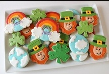 St. Patrick's Day - Cookies / St. Patrick's Day decorated cookies #stpattysday