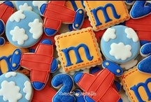 For Little Him - Cookies / Decorated cookie ideas for a boy's birthday