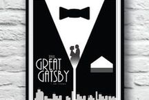 Gatsby Inspired / Roaring 20's - Art Deco  / by The Great Frame Up