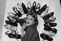 Vintage Shoes  Obsession / Board devoted to our love of vintage looking shoes. Whether authentic vintage or retro styles, here's a photo collection of our favorites, including stilettos,  baby doll pumps, platforms, peep toes, wedgies, slingbacks and more!
