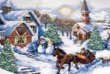 A Cross Stitch in Time / Fabulous cross stitch kits, books and patterns for gifts and decor.  Cross stitch pictures, stockings, ornaments, tree skirts and more!