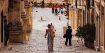 Malta Wedding Inspiration x Brides / Planning a destination wedding? Malta gets our seal of approval for a fabulous wedding abroad...