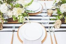 - PARTY - / Beautiful tablescapes & cute party ideas. Who doesn't love a styled dessert table?