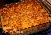 Casserole Recipes / by Sherron Heidlage