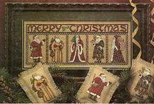 Cross Stitch - Santas / by Anna McPherson