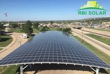 Carport Solutions / Each solar carport project is customized to a client's needs, creating the most functional and cost-effective solar installation available.  See more at: http://www.rbisolar.com/product/solar-carport/