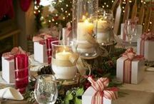 Table Scapes -Christmas and other occasions