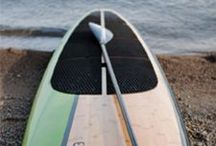 Nice Paddle Boards / Different shapes, lenghs and materials... But all boards for paddling and very nice ones
