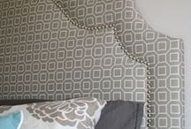 Headboards and chairs