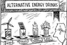 Clean Energy Humor / Clean, green, renewable humor