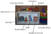 Montessori Infants & Toddlers / Ideas for raising infants and toddlers with a Montessori approach.