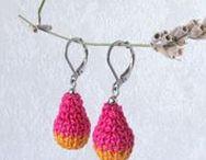 My Jewelry - Textil Schmuck / Handmade fiber jewelry by les frotteurs /  Handgemachter Textil Schmuck von les frotteurs