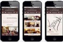 Vinium Mobile portfolio / Vinium Luxury Webdesign mobiles works