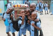 Mission Haiti Inc. Annunciation Leogane / Kids in primary school in Leogane, Haiti.