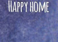 Happy Home / Interiors that are colorful, happy, clever, quirky or arty. #happyhome #creative #spaciousness #color #wellplanned #atmospheric