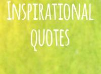 Inspirational Quotes / Uplifting thoughts. Surprising quotes from well-known people. Looking at things from a different perspective. Penny drop moments.