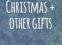 Christmas + Other Gifts / A resource of colorful & unique gifts. Thoughtful and quirky gifts, for you and/or for those friends and family who are tricky to buy (or make) for... #kriskringle #gifting #celebrate