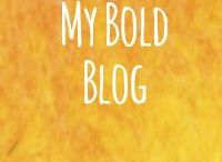My Bold Blog / Sharing my blog posts - when I remember :P