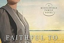 A Middlefield Family Series / The Middlefield Family Series by Kathleen Fuller. Set in the Amish community of Middlefield, OH. The series includes Treasuring Emma, Faithful to Laura, and Letters to Katie.