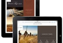 Vinium Tablet portfolio / Vinium Luxury Webdesign tablets works
