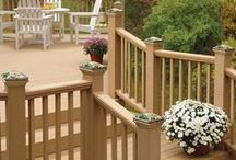 Cap it Off / Easiest way to style a railing? -- Add post caps