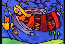 Dreamy Souls Art / Dreamy, floating people in artwork. #dreamy #floaty #dreamart