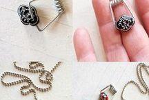 DIY jewelry - Schmuck selbstgemacht / Do it yourself inspirations