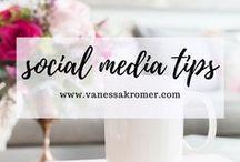 Social Media Tips / social media, tips, social media marketing, Instagram, Pinterest, Twitter, Facebook, linkedIn, digital marketing, virtual assistant, freelance, blogger, websites