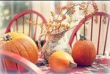Fall Inspirations and Halloween Ideas / The most fabulous time of year!