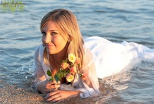 """Photography ~ Trash the Dress! / After your special day is over...if you have no other plans for your gown than have some fun it and do a """"trash the wedding dress"""" session."""