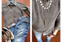 { Style: Clothing } / my style. items i love. / by Leslie Babin
