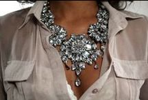 { Style: Jewelry, Shoes & Accessories } / my jewelry stash is never ending. / by Leslie Babin
