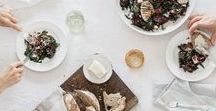   Gather   / Inspirational images to throw the perfect gathering, from casual get-togethers to formal sit-down dinners.