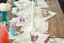 Dainty Doilies / So feminine...soft...and delicate.
