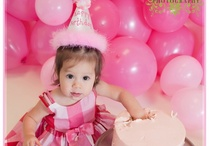 Photography ~ Cake Smash! / Birthday Cake Smash...what fun for a child in celebration of their 1st birthday!