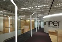 lighting design · offices / · design inspiration for offices · fixtures by a·light ·