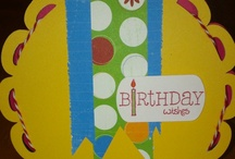 Birthday / Check out my blog at http://acreativejourneywithmelissa.blogspot.com/ or check out my Facebook Business Page at https://www.facebook.com/pages/A-Creative-Journey/146653672077197 for more ideas and inspiration or allow us to create for you today!