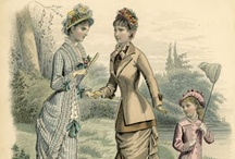 Victorian Fashion 1870's / by A. Mouse