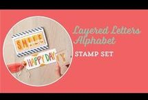 Stampin' Up! Videos / Video's about papercrafting.