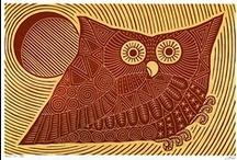 owls, brown, tan, golden Vol. 1 / by emy l
